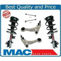(2) Front Quick Spring Strut and Mount 4pc Kit Fits 07-12 Altima V6 3.5L