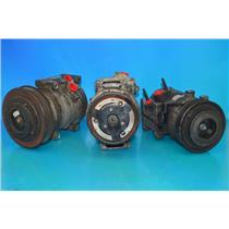 AC Compressor F150, F-450 & F250 F350 F450 F550 Super Duty F53 Lobo Used 77190