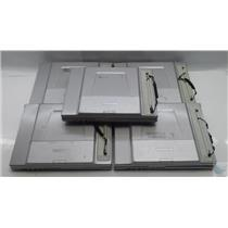 Lot of 5 Panasonic Toughbook CF-T8 Laptop Intel Core 2 Duo 1.6GHz FOR PARTS