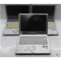 Lot of 3 Panasonic Toughbook CF-C1 Laptop Intel Core i5 2.5GHz FOR PARTS