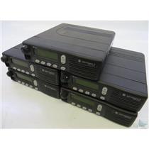 Lot Of 5 Motorola MCS 2000 M01HX+812W 800MHz Mobile Radios POWER ON TEST ONLY