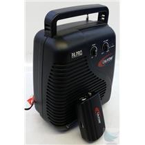 Califone PA PRO PA-10a Portable RF Wireless PA System - TESTED & WORKING