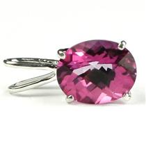 SP002, Pure Pink Topaz 925 Sterling Silver Pendant