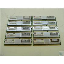 Lot of 10 Hynix 1GB PC2-5300F-555-11 HYMP112F72CP8N3-Y5 ECC Memory Sticks