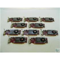 Lot of 10 ATI Radeon HD2400 XT 102B2761700 256MB PCI-e DMS-59 LP Video Cards