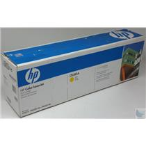 NEW In Box Genuine CB382A HP Color LaserJet Yellow Toner Cartridge