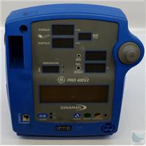 Dinamap Pro 400V2 Vital Signs Patiant Monitor POWER ON TEST ONLY