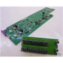 Miranda Densite ADA-1021 Card Module & Backplane PULLED FROM WORKING ENVIRONMENT