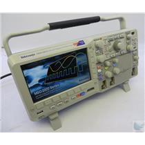 Tektronix MSO2012 2 + 16Ch 100MHz Mixed Signal Oscilloscope TESTED & WORKING