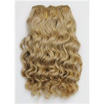 "Blonde 20  wavy mohair weft coarse 6- 8"" x 50"" QP  26395"