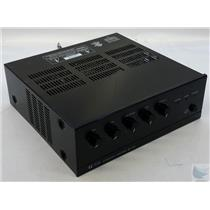 TOA BG-1030 5 Channel 30W Mixer Power Amplifier Missing Power Cord - Working