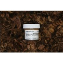Auburn brown  Wig making dye Jar,will Dye 5 lb mohair