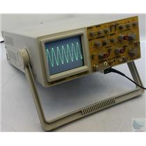 BK Precision 2125A 20 MHz 2 Channel Dual Trace Analog Oscilloscope