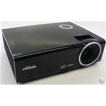 Vivitek D837 DLP Projector w/ HDMI - 823 Lamp Hours Used 72% Remaining