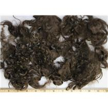 "pecan brown light adult mohair 3-6"" 1 oz of sorted locks 26215"
