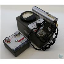 Vitoreen Instruments 491 Geiger Counter with 491-30 Probe & Dosimeter FOR PARTS