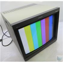 "Sony PVM-20L5 Professional  20"" CRT NTSC Color Monitor & BKM-120D Input Adaptor"