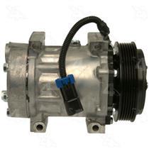 AC Compressor SD7H15 6 Groove (1 Year Warranty) Reman 98598