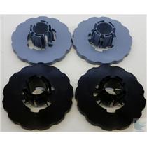 HP DesignJet 5500 Complete Spindle Hub Set 2 Of Each Black & Blue
