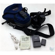 Canon Rebel XTi DSLR 10MP Camera Body w Battery & Bag