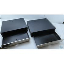 Lot Of 2 MMF Heritage ECD 200 Steel Cash Drawers P/N: 22611115121204 NO KEYS
