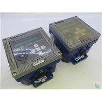 Lot Of 2 Foxboro 1/A Series IMT25 Magnetic Flow Transmitter UNTESTED / FOR PARTS
