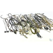 Large Lot of 60+ Costume Jewelry Necklaces From Airport Lost & Found