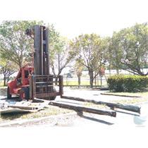 1985 Taylor TSE-110 Marine Marina Forklift - Inoperable With No Engine