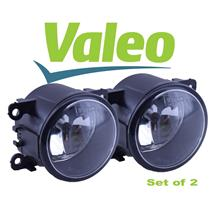 *NEW* SET (2) OEM Valeo Jaguar Fog Lamp Light With H8 Bulb XR837532