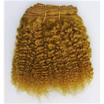 "Carrot 144  bebe curl - tight curl  mohair weft coarse 7- 8"" x 50"" 26452 QP"