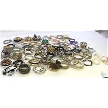 Lot of 7 lbs of Costume Bracelets Gold & Silver Tone From Airport Lost & Found