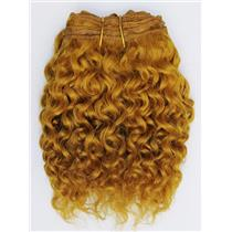 """Carrot 144 curly mohair weft coarse 7- 8"""" x 50"""" QP  26455"""