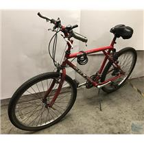 """Outpost Trail GT All Terra Mountain 19"""" Bicycle Shimano 18 Gear Red Bike"""