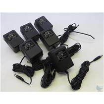 Lot Of 6 A9-1A 9VAC 100mA 1A Credit Card Machine Power Supply