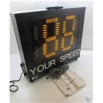 Kustom Signals 200-1481-00 K-Band Speed Digital LED Display POWER ON TEST ONLY