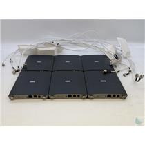 Lot of 6 Cisco AIR-LAP1242AG-A-K9 Lightweight Indoor Wireless Access Point