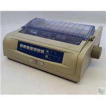 OKI Microline 420 9-Pin Dot Matrix Printer - WORKING See Description