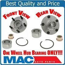 (1) 100% New Frt Wheel Hub Bearing Kit for Nissan Maxima Altima Infiniti I30 I35