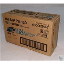 New Fujifilm Hi8 MP P6-120 D 10 pcs Professional Grade Photo Film
