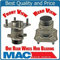 (1) 100% New Versa Rear Without ABS / NO ABS Wheel Bearing and Hub Assembly