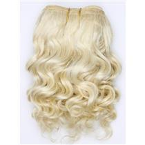 "undyed color 60 wavy mohair weft coarse 7- 8"" x 50""  26512 QP"