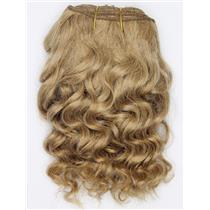 "Blonde 14  wavy mohair weft coarse 7-8"" x100"" 26529 HP"