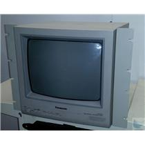 "Panasonic WV-CM1420 14"" Color CRT Monitor 2 Channels w Rackmount Bracket WORKING"