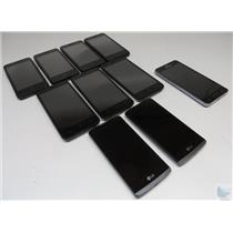 Dealer Lot Of 10 Metro PCS GSM Cell Phones Smartphones LG Samsung ZTE & More