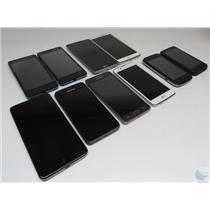 Dealer Lot Of 10 Metro PCS GSM Cell Phones Smartphones LG Kyocera ZTE & More