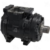 AC Compressor For 1987-1993 Volkswagen Fox (1 Yr Warr) New Pump No Clutch 57382