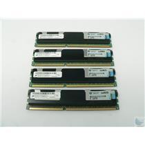 Dealer Lot of 4 Micron 4GB PC3-10600R-9-11-J0 MT36JSZF51272PZ-1G4G1FE ECC Memory