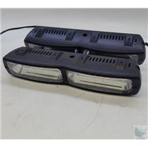 HOLD FOR TONYLot of 2 Whenlen TLN2RB Talon Dashboard LED Strobe Light - TESTED WORKING