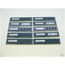 Lot of 10 Hynix 2GB PC3-8500U-7-10-B0 HMT125U6BFR8C-G7 Memory Sticks