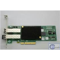 HP/Emulex PCIe 2Port 8Gb Fibre Channel HBA 489193-001 LPE12002 w/ 2 SFP High Pro